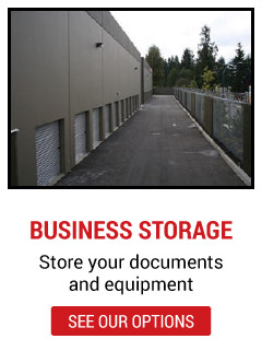 business storage - store your documents and equipment - see our options | units from outside